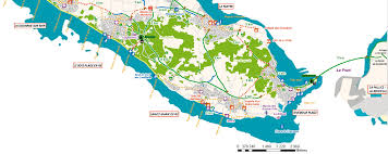 Carte de l'île de Ré