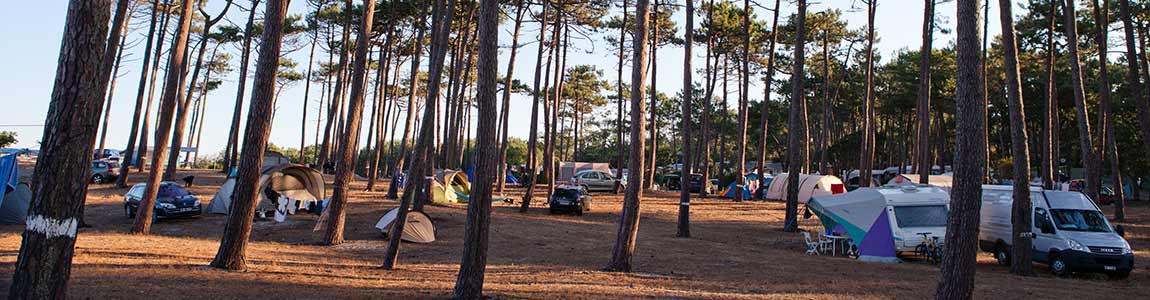 camping sur l'ile de Ré